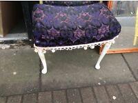 Vintafe dressing table stool