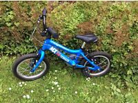 """Blue 14"""" Ridgeback bike, very good condition, great little bike for 3-5 year olds"""