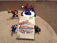 Sky landers Giants starter pack Xbox 360 includes figures