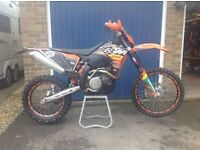 KTM 530 EXC, 2008 model in excellent condition, part exchange a pleasure
