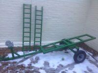 Towing frame ramps