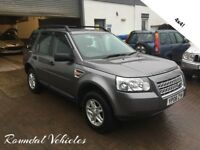 2008 Land Rover Freelander 2 2.2 TD4 S, 5 door 4x4, FSH, NEW CLUTCH AND FLYWHEEL, mot JAN 2019 !!