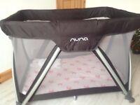 Nuna Travel Cot - hardly used