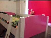 Kids stompa mid sleeper pink
