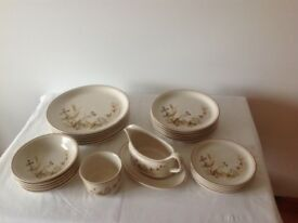 Marks and Spencer Tableware. Harvest Gold design