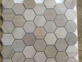 Travel Hex Mosaic (30x30) 8pcs for sale