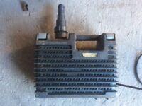 Garden pond pump, filter and uv light filter