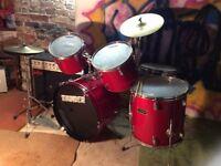 Beginner's 6 Piece Drum Kit