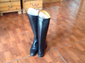 Harry Hall Long Black riding boots size 6