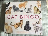 Cat bingo board game