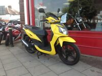 SYM SYMPHONY 125 GREAT SCOOTER FULLY SERVICED LONG MOT DELIVERY CAN BE ARRANGED