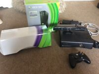 X box 360 and Kinect