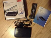 Dion Freeview box with remote