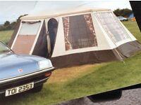 Vintage frame tent