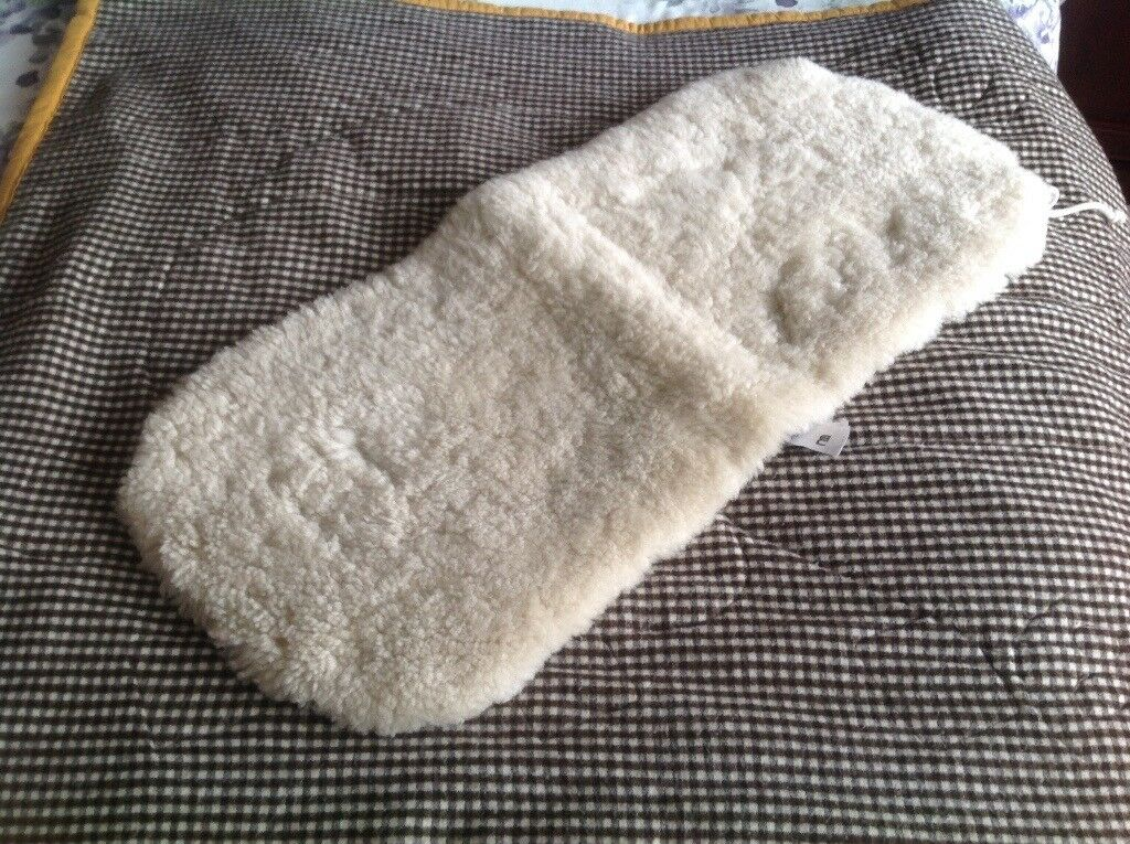 Mothercare luxury natural sheepskins liner