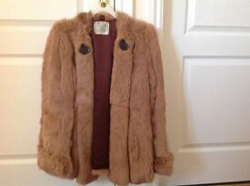 Real fur 1980s jacket size 14 perfect condition £40 can deliver if you live local
