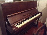 moving house - free piano for collection -needs a bit of tuning