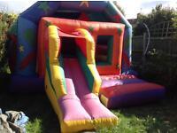 Disco Bouncy Castle Hire