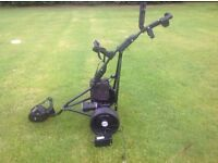 POWAKADDY FREEWAY TITANIUM TROLLEY NEW 36 hole battery and charger 6months ago goes great