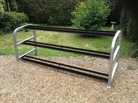 3 Tier Heavy Duty Large Dumbbell Rack (Delivery Available)