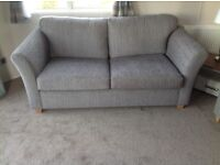 Three seater sofa bed and matching two seater sofa brand new reason for sale grab a bargain