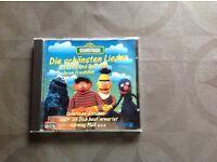 CD Sesamstrasse, die schönsten Lieder mit Erni und Bert und... Rheinland-Pfalz - Asbach Vorschau