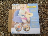 Swing tray booster seat feeding etc by Safety 1st