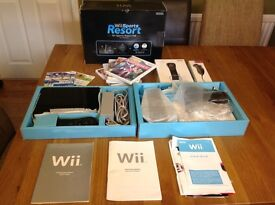 Wii sports resort pack with additional games
