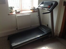 Pro-Form running machine. Various speeds,inclines and programmes .
