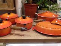 Le Creuset - Orange set of 6