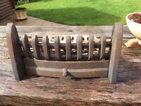 Caste iron fireplace set