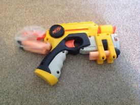 NERF Nightfinder EX3 with laser pointer and 6 darts