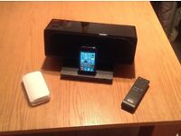 Apple iPod Touch and Sony Docking station.