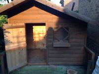 Stunning wooden playhouse