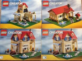 LEGO Creator 3 in 1 Family House home, 9744, complete with instructions, Excellent condition