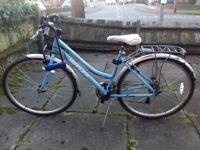 Perfect condition Reflex City 700c classic ladies' bike