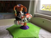 Fisher price Zebra Bounce and Spin Bouncer Toy