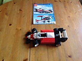 Lego formula one car