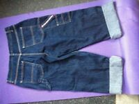 Designer RALPH LAUREN POLO Slouchy Boyfriend Jeans Trousers Pants 10-12 M