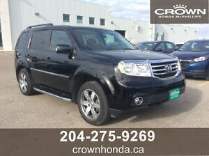 2014 HONDA PILOT TOURING - LEASE RETURN, ONE OWNER, LOCAL TRADE