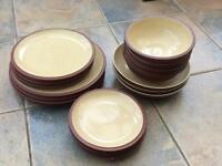 Denby Juice Dinner Service. Individual Items for Sale. 18 Pieces Available