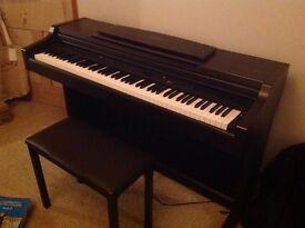 Yamaha Clavinova electric piano CLP-840 plus stool