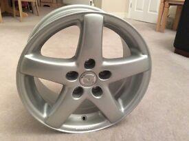 Set of 4 Alloy wheels unused