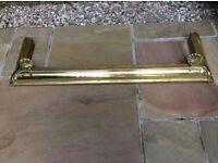 Solid Brass Fire Fender/Surround