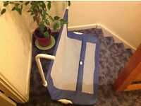 Mothercare bed guard blue, excellent condition