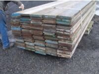 Heavy duty scaffolding boards for sale ideal for builders projects,farm, equestrian railed fencing