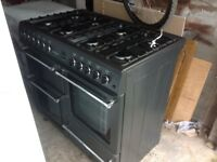 Country chef range cookertwo ovens grill and hob with eight gas burners