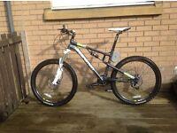 Chris Boardman dual suspension mountain bike