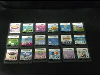 DS Games x 18