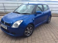 * 2006 * SUZUKI SWIFT * 1.3 GL * 5 DOORS * MANUAL * BLUE * LONG M.O.T * STUNNING CAR